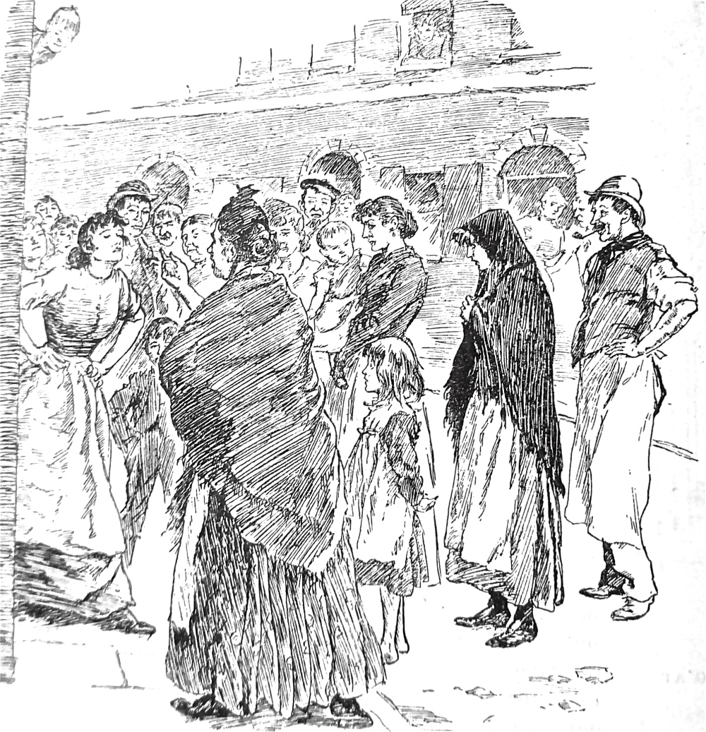 women fighting street. P1070190